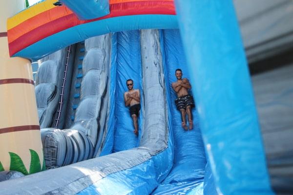 tobogan hinchable enorme para fiestas y eventos
