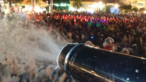 En este momento estás viendo Alquiler Fiesta de la Espuma en AGOST