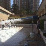 Alquiler Fiesta de la Espuma en SANT JOAN ALACANT