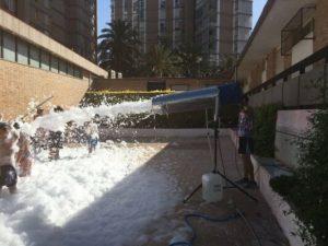Alquiler Fiesta de la Espuma en ALMORADI