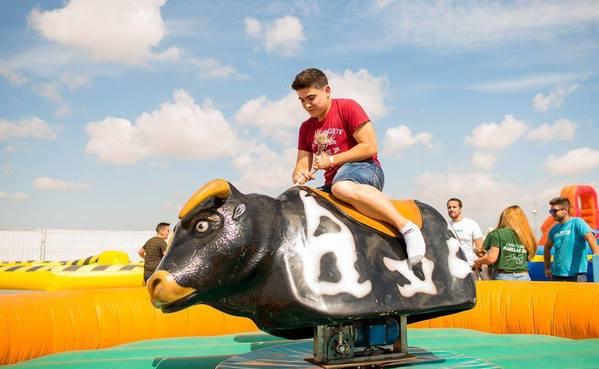 alquiler toro mecánico para adultos en Alicante