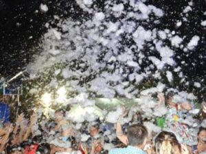 Alquiler Fiesta de la Espuma en BENIDORM