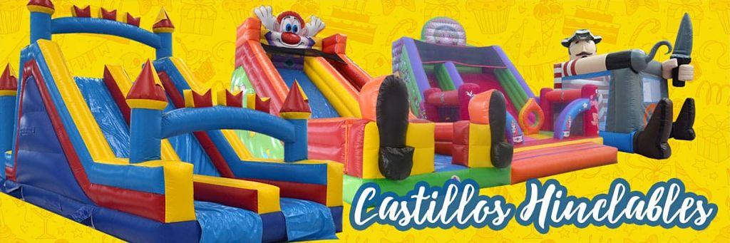 Alquiler de Castillos Hinchables en CAMPO DE MIRRA