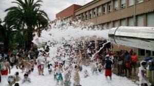 Alquiler Fiesta de la Espuma en BENEJUZAR